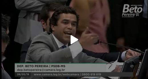 Embedded thumbnail for Beto Pereira questiona ministro da Economia Paulo Guedes sobre a Reforma